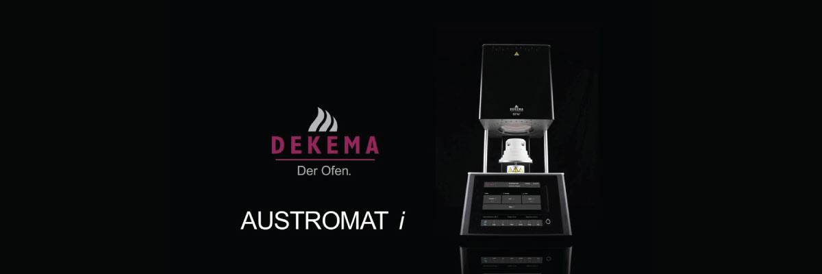 Cuptor de sinterizare zirconiu ulta-rapid Dekema Austromat 674i