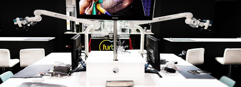 Video microscop pentru laborator dentar, cursuri , prezentari, universitati
